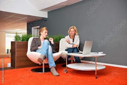Fotografie, Obraz  Informal business meeting