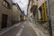 Ponte di Legno- Italy. Streets and homes