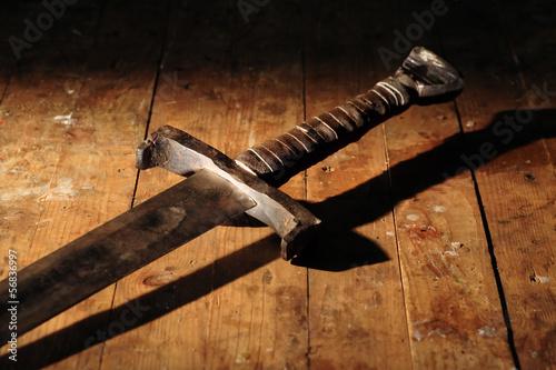 Obraz na płótnie Ancient Sword