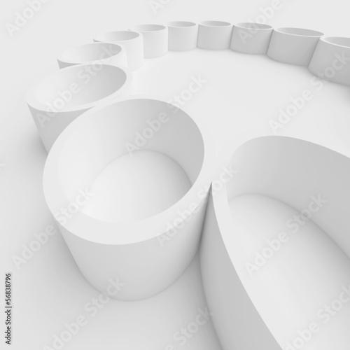 Zdjęcie XXL Białe wnętrze