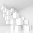 White Architecture Background