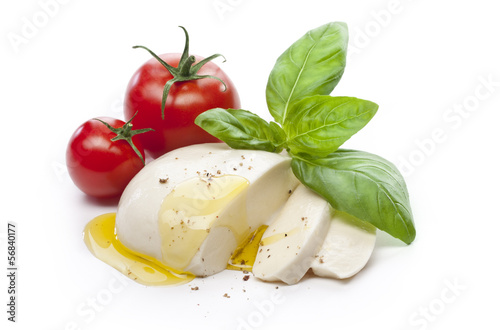 mozzarella Canvas Print