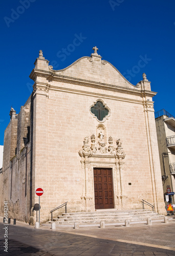 Photo  Church of St. Leonardo. Manduria. Puglia. Italy.