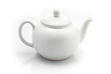 Teapot Isolated On A White Bac...