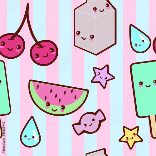 Photo  Kawaii pattern
