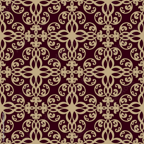 Seamless wallpaper pattern Poster