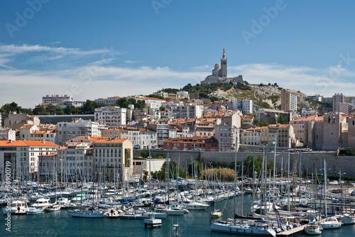 Marseille le vieux port et notre dame de la garde buy this stock photo and explore similar - Pharmacie de garde marseille vieux port ...