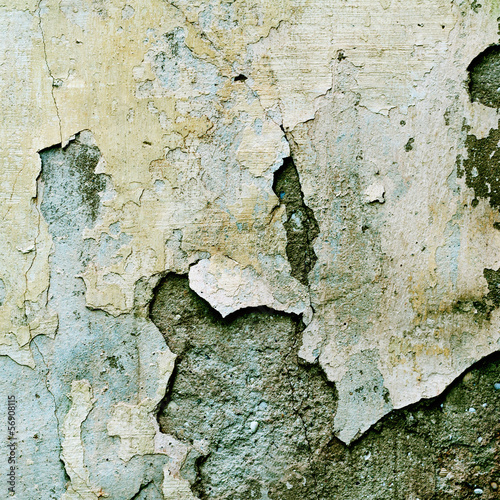 Keuken foto achterwand Retro shabby paint and plaster cracks