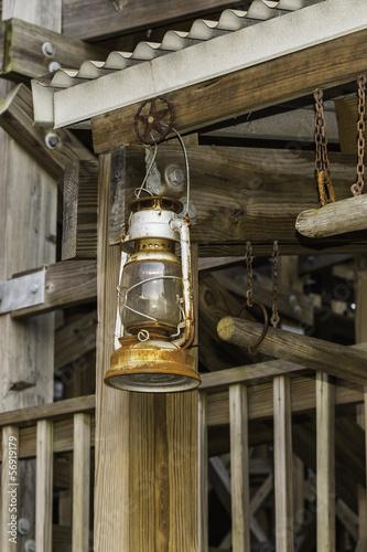 Foto op Plexiglas Chicago Vintage Gas Lantern