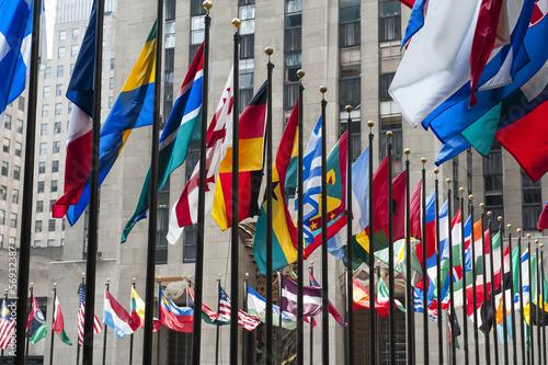 Fotomural  Flags