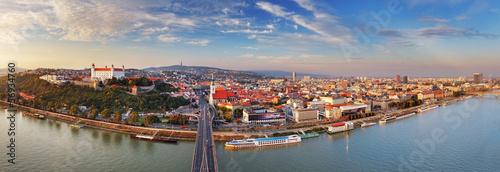 Photo Bratislava panorama - Slovakia
