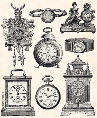 Cuadros en Lienzo Horlogerie