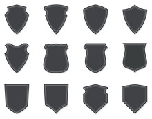 Blank Badges And Shields