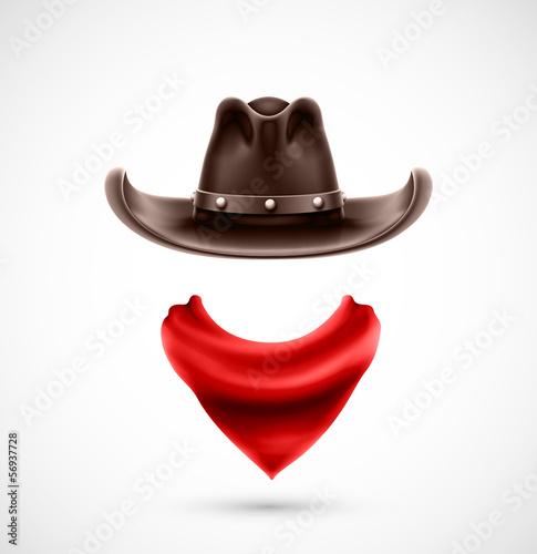 Papel de parede Accessories cowboy