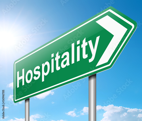 Fotografía  Hospitality concept.