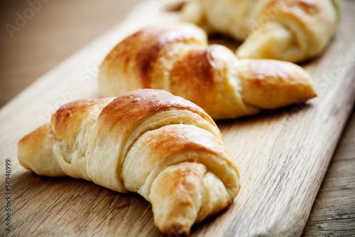Fotografie, Obraz  Croissants