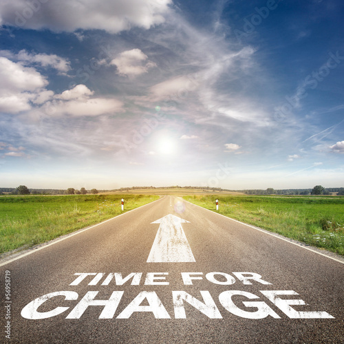 Time for change Poster Mural XXL
