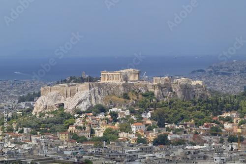 Parthenon, Acropolis and Athens cityscape, Greece