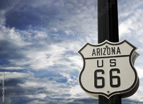 Foto op Canvas Route 66 Route 66