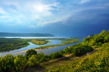 The River Volga, The City Of S...