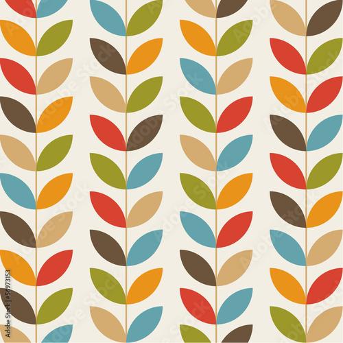 Tapety stylowe i modne  retro-kwiatu-wzoru-bezszwowy-tlo