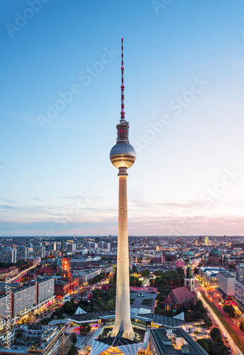 Photo  Berlin Cityscape
