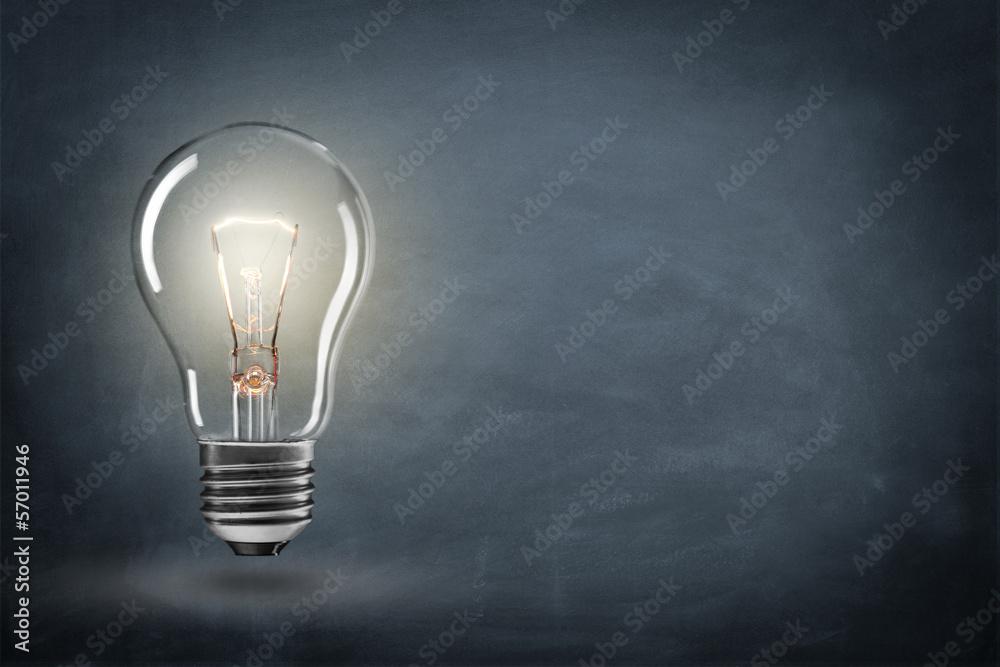 Fototapety, obrazy: Lampe mit Hintergrund