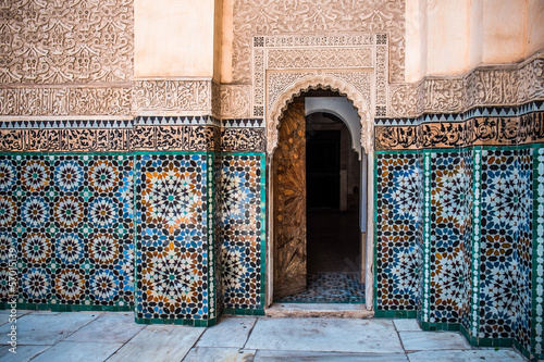 Moroccan wall decoration