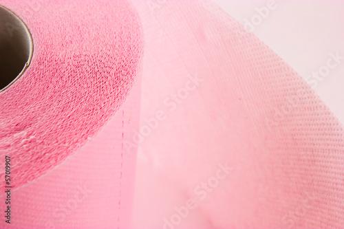 Garden Poster Light pink toilet paper