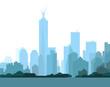 New York Skyline - vector