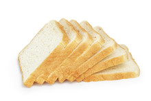 Seven Slices  Of Toast Bread
