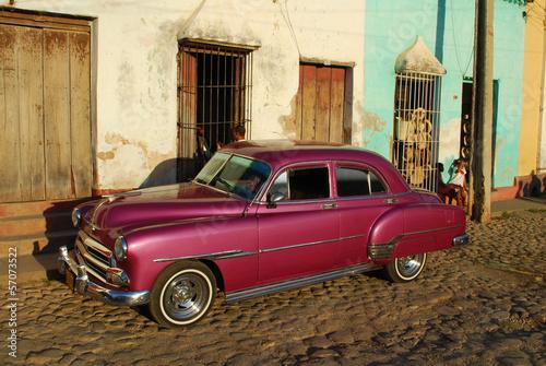 Fototapeta na wymiar Rue de Cuba
