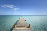 Fototapeta Room - Passerelle en Bois sur ma Mer