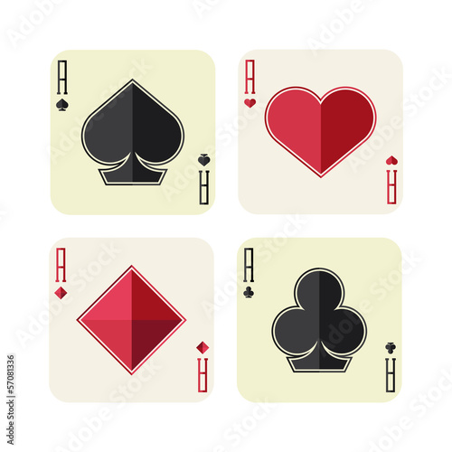 Photo  playing card