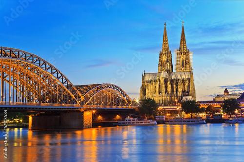 Pinturas sobre lienzo  La catedral de Colonia, Colonia, Alemania