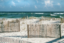 Beautiful Florida Beach With S...