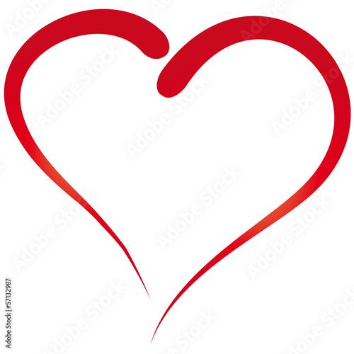 Herz gemalt einfacher umri kaufen sie diese for Einfacher 3d raumplaner kostenlos