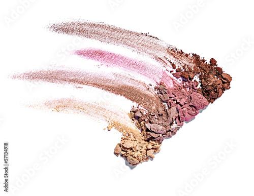 Obraz na plátne powder brush make up beauty