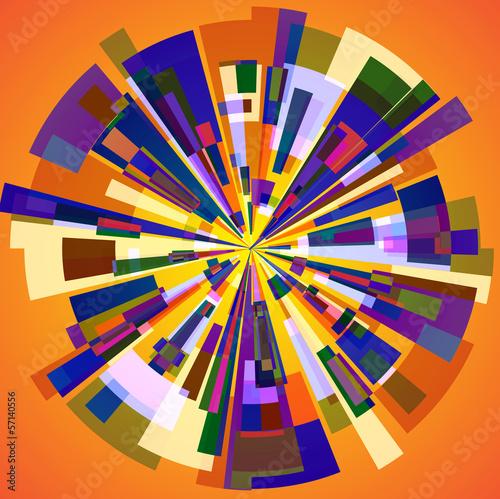 Fényképezés  Abstract blocks
