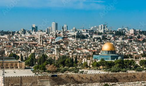 Fotobehang Midden Oosten The Temple Mount, Jerusalem, Israel
