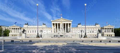 Deurstickers Wenen Parlamentsgebäude Wien