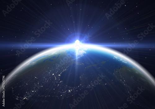 Tapety Kosmos  rozblysk-ziemi