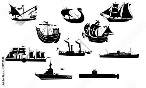 Ship anthology Tapéta, Fotótapéta