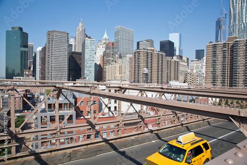 Staande foto New York TAXI New York
