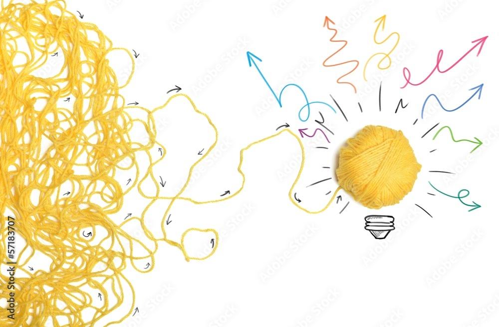 Fototapety, obrazy: Idea and innovation concept