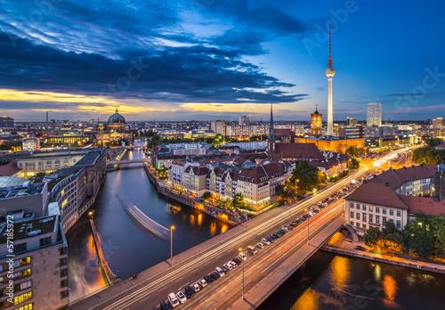 Poster Berlin Berlin, Germany Cityscape