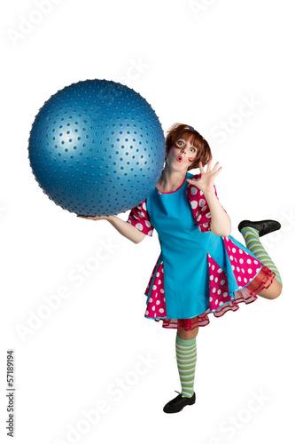 Fotografía  Girl animator Ball