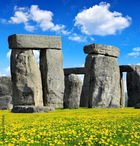 Carta da parati Historical monument Stonehenge,England, UK