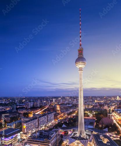 Poster Berlin Berlin Cityscape