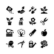 Web Icon Set -Garden, Tools, W...